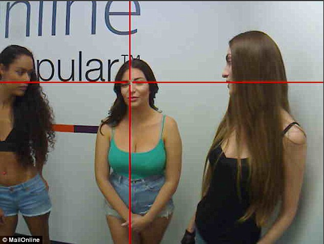 One man appears to hone in on Stephanie. However the results were surprisingly even, with each woman receiving roughly a third of the glances