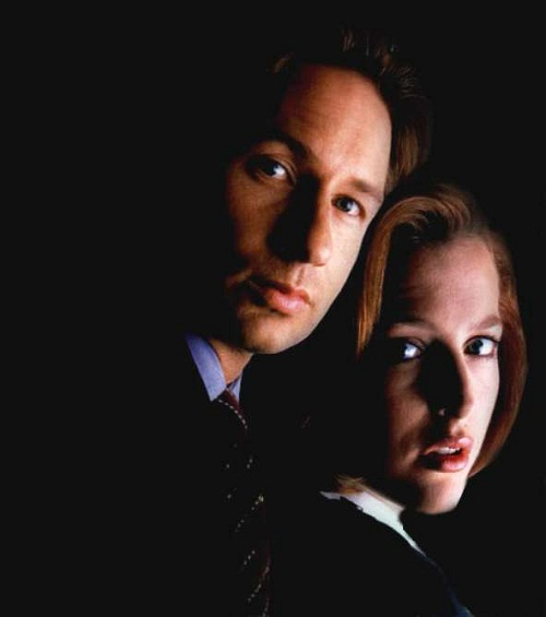 Gillian Anderson, David Duchovny, the X-files